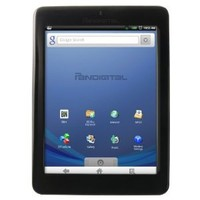 Pandigital Novel 2GB 7-Inch WiFi Multimedia Android Tablet and Color eReader R70E200 (Black) - Factory Remanufactured and Warrantied | www.deviazon.com