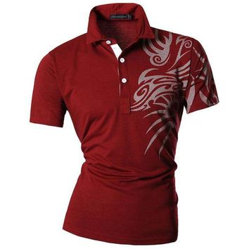 ONETOW New 2017 Mens Summer Fashion Casual Polo Shirt Designed Short  Sleeves Shirt Slim Fit Trend Solid color 4 Colors S M L XL U010