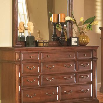 Torreon Rustic Drawer Dresser Antique Pine