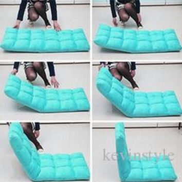 Chair:  Lazy Sofa Rice Couch - Single sofa folding bed - floor chair