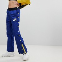 Nike Archive Popper Track Pants In Blue at asos.com