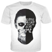 Normal People Scare Me Tate Shirt