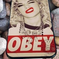 Marilyn Monroe Obey for iPhone 4/4s/5/5S/5C/6, Samsung S3/S4/S5 Unique Case *95*