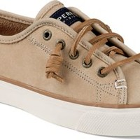 Sperry Top-Sider Seacoast Washable Sneaker Sand, Size 9M  Women's Shoes