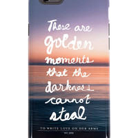 To Write Love on Her Arms Official Online Store - Golden Moments iPhone 6 Case