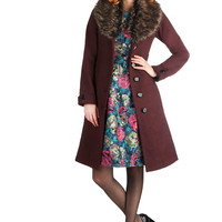 Elegance through the Evening Coat | Mod Retro Vintage Coats | ModCloth.com