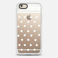 white fashion iPhone 6 Carcasa by Marianna | Casetify
