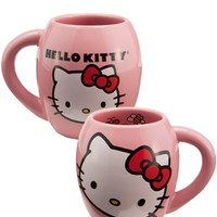 Hello Kitty Oval Ceramic Coffee Mug