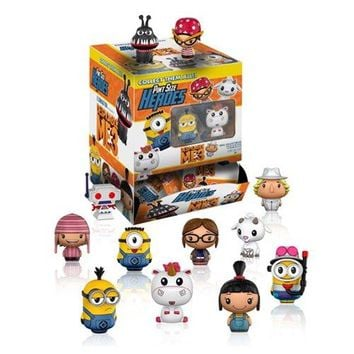 Despicable Me 3 Pint Size Heroes Mini-Figures 6 Pack