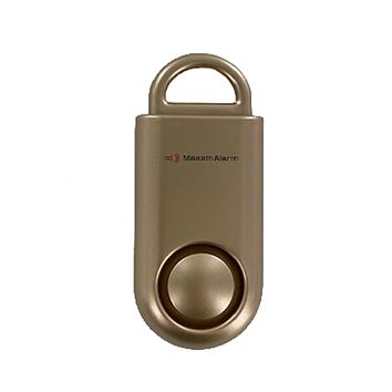 Portable Personal Security Alarm Gold