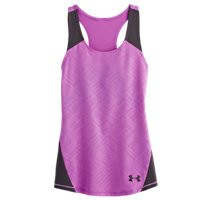 Under Armour Girls' UA Perfect 10 Fitted Tank