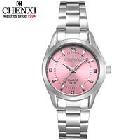 5 Fashion colors Luxury Women's Casual watches (waterproof)