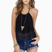 Trish Trim Halter Top $29
