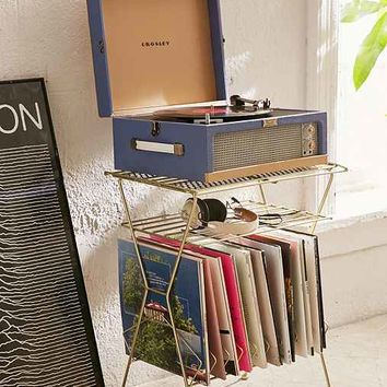 Metal Vinyl Storage Shelf