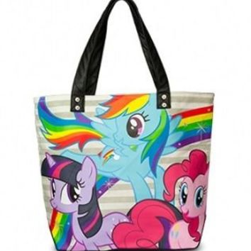 My Little Pony Rainbow Dash Twilight Sparkle Pinkie Pie Tote Bag - My Little Pony - | TV Store Online