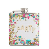 New Year Flask