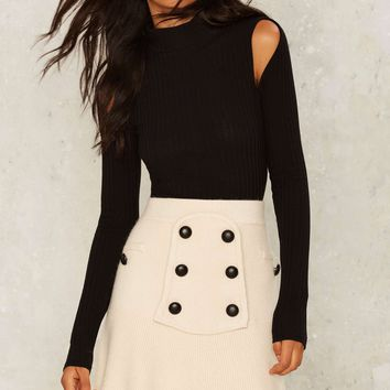 Ivy League Knit Skirt