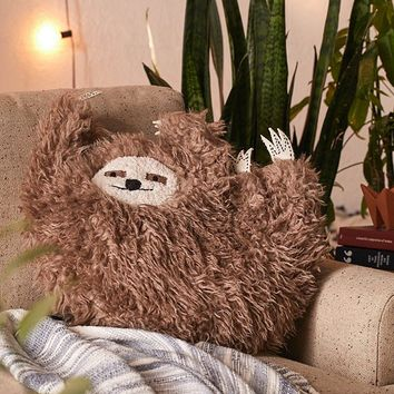 Party Sloth Pillow | Urban Outfitters