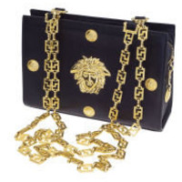 Versace - GIANNI VERSACE COUTURE CHAIN BAG WITH MEDUSA