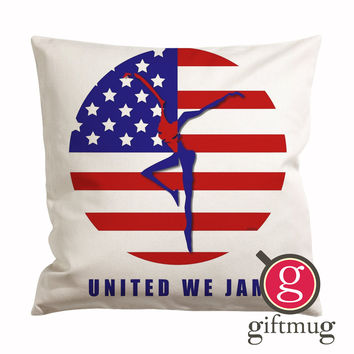 DMB United We Jam Cushion Case / Pillow Case