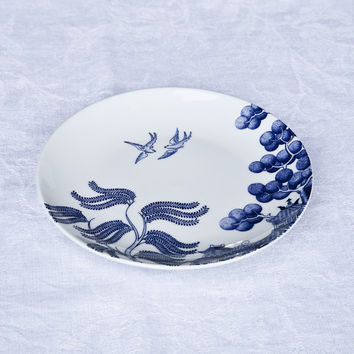 Rapsodia Blu - Willow-Motif Side Plate