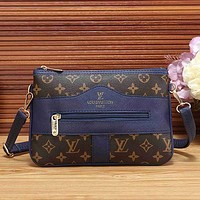 Louis Vuitton LV Fashion Leather Crossbody Satchel Shoulder Bag Handbag