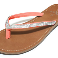 Bling Sandals in Coral by Amanda Blu