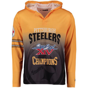 Nike Pittsburgh Steelers Washed Football T-Shirt - Gold