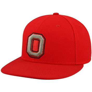 Nike Ohio State Buckeyes Scarlet On Field Fitted Hat