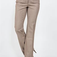 Button Tab Trouser Pant