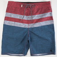 Ambig Trace Mens Boardshorts Red  In Sizes