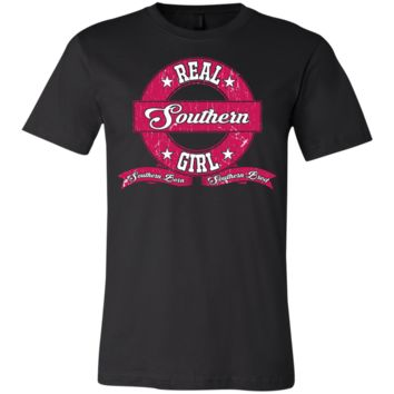 Real Southern Girl Youth Bella+Canvas Jersey Short Sleeve T-Shirt
