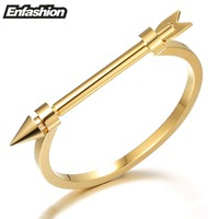 Enfashion Arrow Bracelet Noeud armband Gold color Bangle Bracelet For Women Screw Cuff Bracelets Manchette Bangles Pulseiras