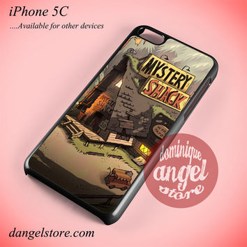 Gravity Falls  Mistery Shack Phone case for iPhone 5C and another iPhone devices