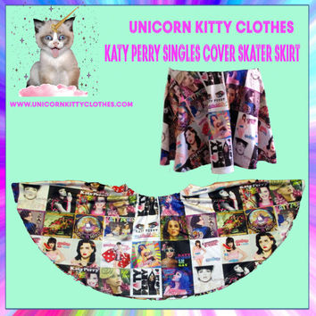 Katy Perry Skater Skirts - Singles cover print