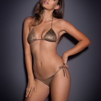 View All Swimwear by Agent Provocateur - Carter Bikini Bra