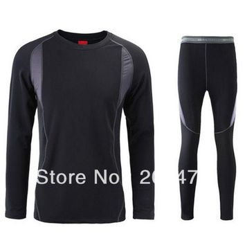 VONESC6 Top quality thermal underwear Long Johns quick drying thermo underwear men clothing