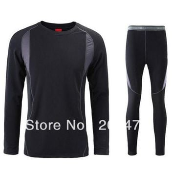 DCCKJG2 Top quality thermal underwear Long Johns quick drying thermo underwear men clothing