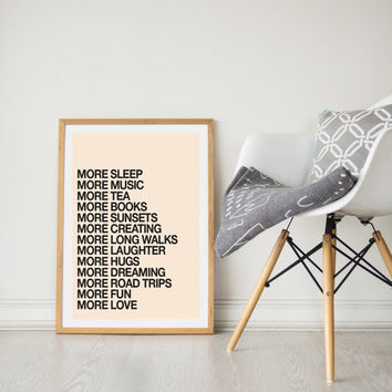 Printable Wall Art Prints, Instant Download Printable Art, Printable Quotes, Digital Print, Digital Download, Urban Print, More Everything