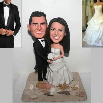 Best Beach Wedding Cake Topper Products On Wanelo