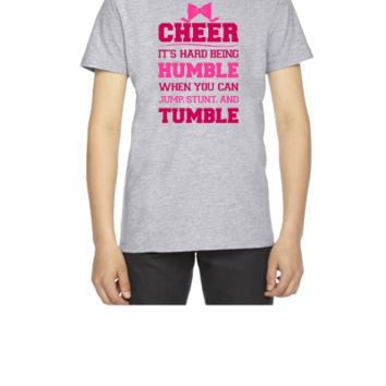 If Cheerleading Was Easy - Youth T-shirt