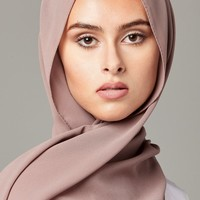 TAUPE Chiffon - CULTURE Hijab Co.