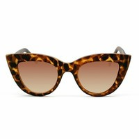 Quay Eyeware Kitti Sunglasses in Tortoise
