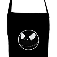 Negative Jack Evil Grin Crossbody Sling Bag Nightmare Before Christmas