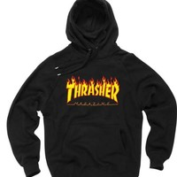 thrasher magazine black color Hoodies