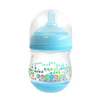 The First Years 4-oz. GumDrop Wide-Neck Bottle (Blue)