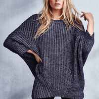 Crewneck Poncho - Cozy Sweaters - Victoria's Secret