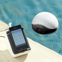 Audio Unlimited 900MHz Wireless Floating Pool Speaker:Amazon:Electronics