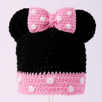 Shop Newborn Beanies With Bows on Wanelo