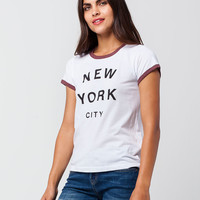 ELEMENT New York City Womens Ringer Tee | Graphic Tees